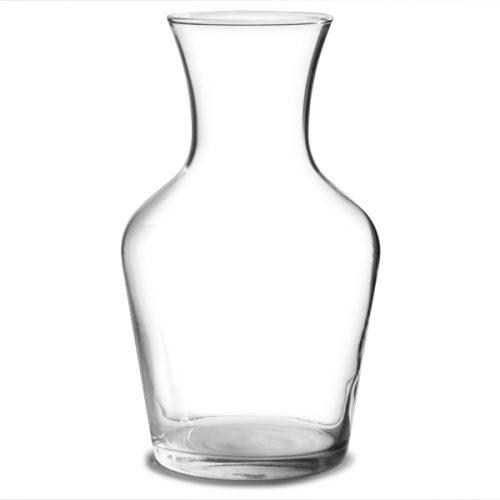 Empty Glass Carafe