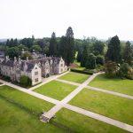 Aerial View of Wakehurst place - Wedding Venue