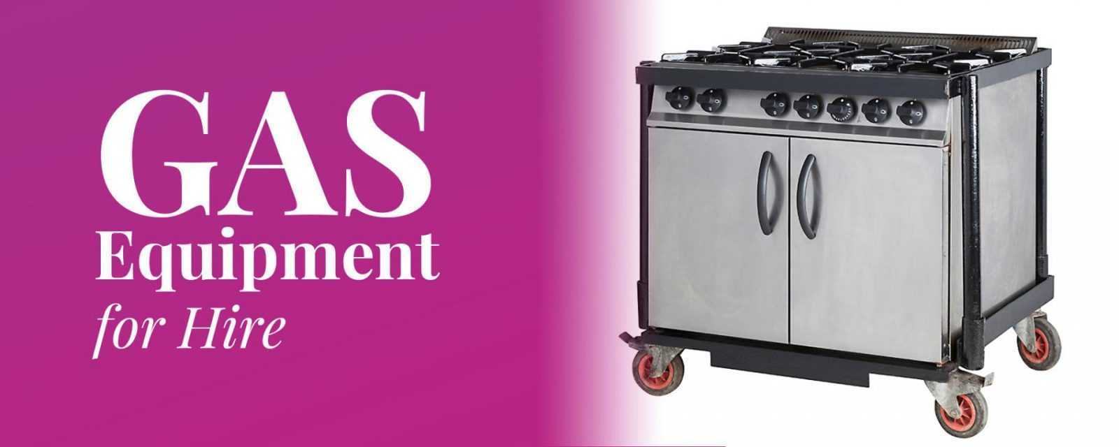 Gas Equipment for Hire