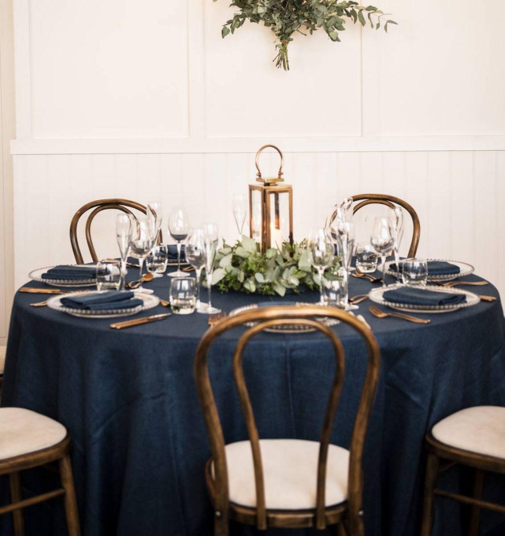 Navy Blue Wedding Table
