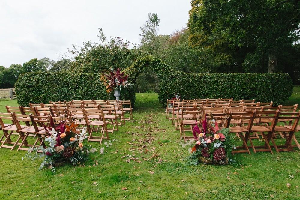 Favourite wedding trends of 2019, outdoor ceremonies