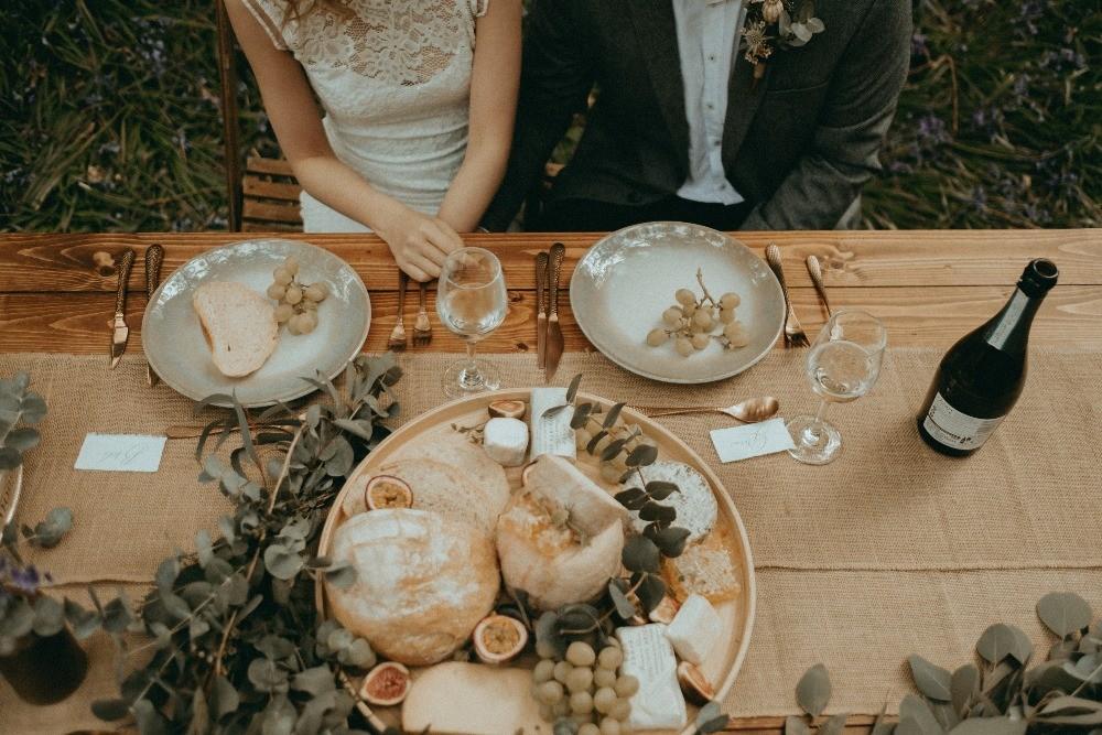 Favourite wedding trends of 2019, rustic tableware, at Patricks Barn