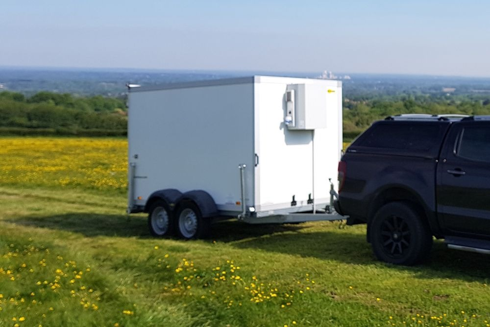 Hire refrigerated trailer, with view