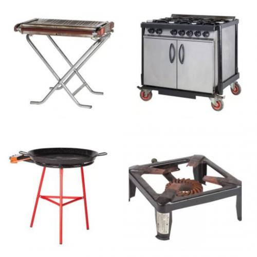 Gas Kitchen Equipment Hire